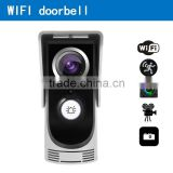best electronic 2M PIXELS 3G GSM wifi doorbell camera