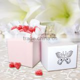 Laser Cut Favor Box/wedding candy box /gift box Match Invitation Card