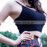 Womens Sports Yoga Vest Jogging Camisole Back Zipper Sexy Design Clothing OEM Type Manufacturer Factory From Guangzhou