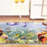 new design best quality bath mat large natural / three friends stand in line printed mats