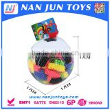 2015 new style kids funny intelligent plastic bricks toy for sale