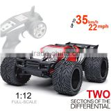 High Speed RC Car 1/12 30KM/H Scale High Speed Race Radio Controlled Cars Off-Road Cars 4WD with 2.4G Remote Control Car