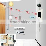 security recordable camera system wireless for villa/house/apartment building