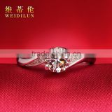 925 sterling silver antique ring dropshiper jewelry synthetic diamond platinum diamond finger rings