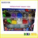 Best Christmas gift for boys Revenger diy twist rubber loom band kit make bracelet bands