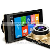 5.0Inch Android Allwinner A33 1080p touch screen dash board camera with GPS navigator WIFI                                                                         Quality Choice
