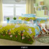 Chinese lastest animal pattern design cotton bedding set children bed sheets cheap bedding set