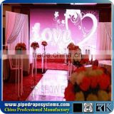 Telescopic pipe and drape kits wedding backdrop stand event backdrop stand