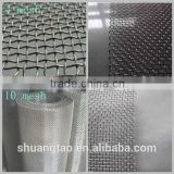 High quality crimped wire mesh panel, woven wire mesh (ISO Guangzhou factory)