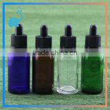 glass eliquid bottles dropper pipette caps with tamper evident ring 30ml glass dropper bottles