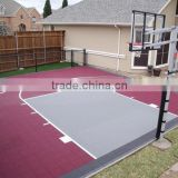 Interlocking PP Sports Court/High quality basketball court flooring tile,,, basketball court plastic tile, pp interlocking outdo