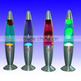 energy saving Floating Lava Lamp / Glitter lamp/ colorful lava lamp/Aluminum groovy lava motion desk lamp