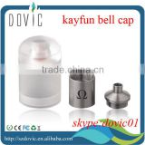 Acrylic cap and ss chimney kayfun bell cap