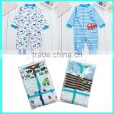 Wholesale 3 pack carter romper newborn boys and girls cotton baby clothes                                                                         Quality Choice