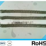 hardened welded steel link chain/dog chain, metal chain,G30 chain in plastic bucket,dog collar chain double