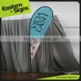 NO MOQ OEM Custom Advertising Polyester Fabric Promotion Advertising Teardrop Promotional Feather Banner