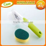 Kitchen With A Long Handled Brush Spray Liquid Decontamination Nonstick Oil Cleaning Brush
