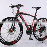 Bicycle 70 Machete Knife Ring 14 Gear Mountain Bike Muscle High-Carbon Steel Six-Color Outdoor Bike Sell Like Hot Cakes!