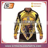 Stan Caleb Full dye sublimation fishing wear/polyester fishing shirt/customize fishing shirts dri fit