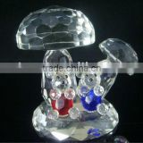 Loving Crystal Bear Couple Figurines For Wedding Gifts&Souvenir APM-22