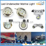 Excellent Quality IP68 Waterproof LED Underwater Marine Boat Drain Plug Light brightest 27W led mini light underwater DC11-28V