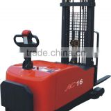 1600kg Full free 3-Stage 3700mm stepless control Counterbalanced Electric Pallet Stacker CDD16-970