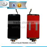 Full warranty wholesale factory price China mobile phone spare parts lcd screen for Lg g2 screen digitizer assembly