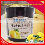 What Is A Fruit Jam For Milkshake Ingredients Wholesale Crystal Sugar Osmanthus Snow Pear Jam Manufacturers