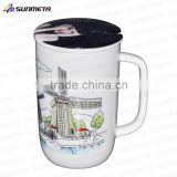 cheap Ceramic coffee Mug wholesale/white coffee mugs for sublimation,drinking water cup made in china