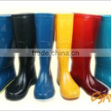 Construction safety PVC boots footwear from China blue wear resistant safety shoes, construction footwear, counter stike SA-9807