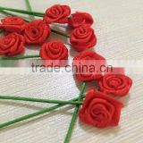 Realistic Bouquet Shades Artificial Flower Red/Fake Mini Rose