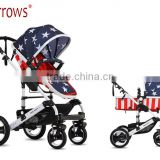 Good Quality Baby Pram Stroller Pushchair Reversed Handle Produced By EN1888 Approved China Factory