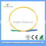 Low insert loss fiber optic SC patch cord for fiber optic solutions