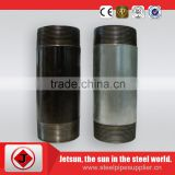 Jetsun high tensile strength fast delivery BS DIN NPT Nipple&Carbon Black steel Pipe Nipple