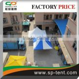 Flame retardant polyester fabric aluminum Pole frame gazebo tent 4x4m for 10 people