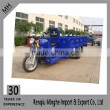 Blue Oil Motor Bike Three Wheels Tricycle For Cargo China Supplier