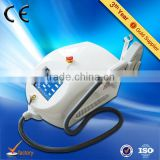2016 most-effective hand held laser hair removal equipment with 808 diode system( 10 bars, CE)