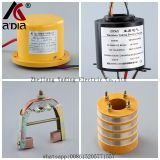carbon brush slip ring 2rings , 3rings, 4rings 10rings thaditional slip ring