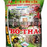 Bo Thai (14 -1- 14 + Bo + TE): Specialized NPK Compound Fertilizer For Industrial Crop