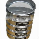 Low price high quality wire mesh standard testing sieve
