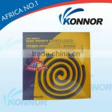 China Konnor Good Quality Best Sellling 12 hours Black Mosquito Coil