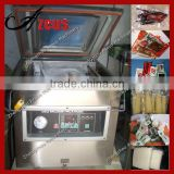 Small vacuum packing machine for food and meat
