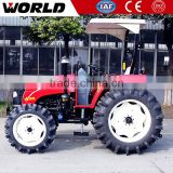110hp 4X4 goodyear small farm tractor with Farm Implements