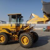 CE provided 4 ton front wheel loader for sale YN940 adopt Dongfeng Cummins engine 2.4cbm bucket capacity