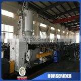 CPVC UPVC rainwater pipe manufacturing plant price/ pvc decorative pipe extruder machine