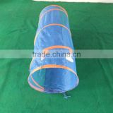 Colorful cat tunnel toy indoor for playing
