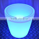 32'' LED light up furniture led illuminated plastic flower pot led wine cooler/led bucket LTT-CF14