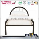 Modern appearance metal bed latest single bed designs baby cot bed