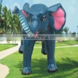 fiberglass elephant statue outdoor animal statue
