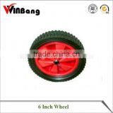 6 Inch Black Fan Blade Wheel